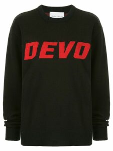 Strateas Carlucci 'Devo' knit sweater - Black