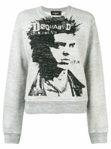 Dsquared2 printed jumper - Grey