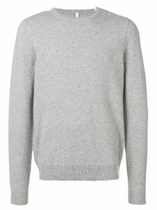 Extreme Cashmere long-sleeve fitted sweater - Grey