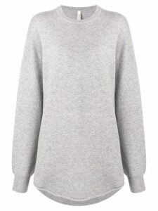 Extreme Cashmere oversized long-sleeve sweater - Grey
