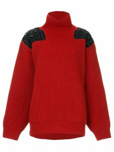 Kolor stud detailed jumper - Red