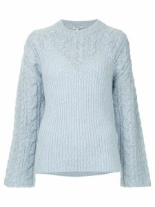 Kenzo basic knit jumper - Blue
