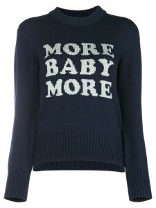 Christopher Kane 'More Baby More' knit - Blue