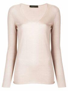 Fabiana Filippi slim-fit knitted sweater - Neutrals