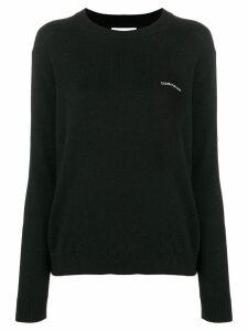 Calvin Klein Jeans logo jumper - Black