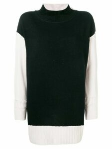 Dorothee Schumacher colour block jumper - Black