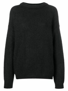 Acne Studios Dramatic oversized sweater - Black
