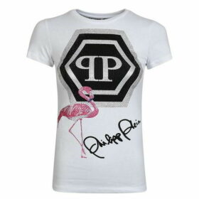 Philipp Plein Flamingo Signature T Shirt