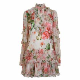 Philipp Plein Flower Dress