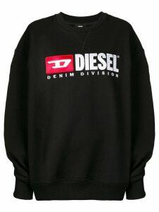 Diesel F-Arap logo sweatshirt - Black