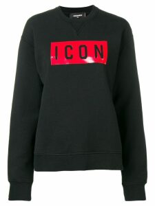 Dsquared2 Icon patch sweatshirt - Black