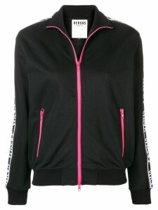 Versus logo sleeved track top - Black