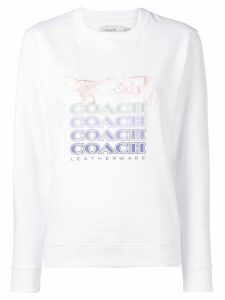 Coach Shadow Rexy sweater - White