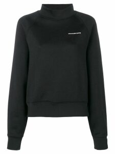 T By Alexander Wang funnel neck sweatshirt - Black