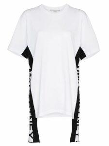 Stella McCartney logo stripe T-shirt - White