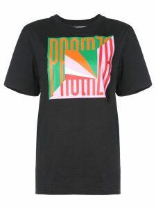 Proenza Schouler PSWL Flag T-Shirt - Green