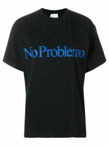 Aries No Problem T-shirt - Black
