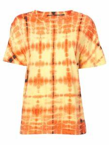 Proenza Schouler Tie Dye T-Shirt - Yellow