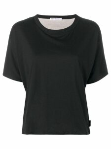 T By Alexander Wang round neck T-shirt - Black