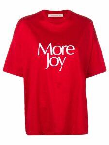 Christopher Kane More Joy t-shirt - Red