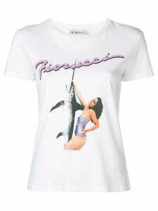 Fiorucci Swordfish print T-shirt - White