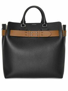 Burberry The Large Leather Belt Bag - Black