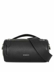 Burberry The Leather Barrel Bag - Black