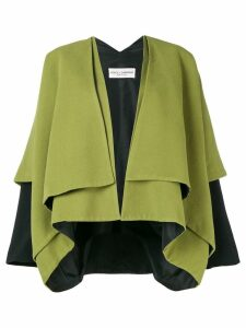 Dolce & Gabbana Pre-Owned 1990's layered coat - Green