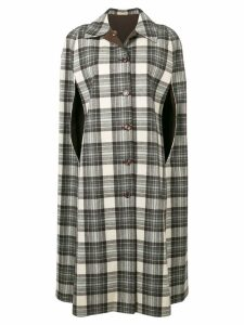 A.N.G.E.L.O. Vintage Cult 1970's reversible checked coat - White