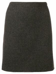 Prada Pre-Owned 1990's straight skirt - Grey