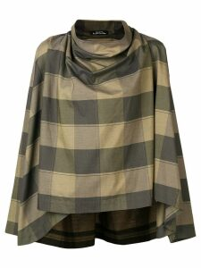 Issey Miyake Pre-Owned geometric printed sweater - Green
