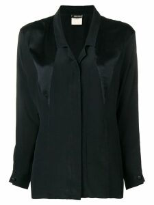 Fendi Pre-Owned panelled shirt - Black