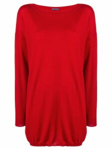 Emanuel Ungaro Pre-Owned 1990's loose fit jumper - Red
