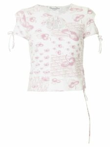 Christian Dior Pre-Owned short sleeve top - White