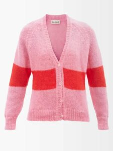 Gucci - Floral And Logo Jacquard Cape - Womens - Black