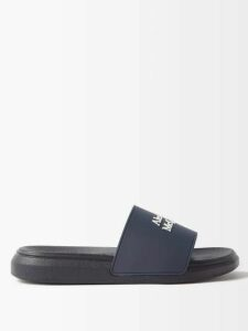 Anaak - Fay Diamond-jacquard Cotton Blouse - Womens - White Print