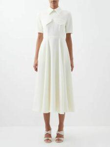 Anaak - Akari Striped Cotton Cami Top - Womens - Grey White