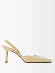 Anaak - Annex Pleated Cotton Shorts - Womens - White Black