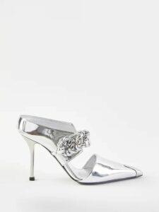 Le Sirenuse, Positano - Vanessa Postcard-print Dress - Womens - Dark Blue