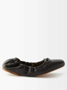 Chloé - Striped Silk Blouse - Womens - Brown Stripe