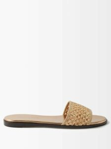 Emilia Wickstead - Margot Floral-print Satin Blouse - Womens - Pink Print