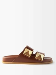 Roland Mouret - Algar Hammered Silk-blend Blouse - Womens - Green