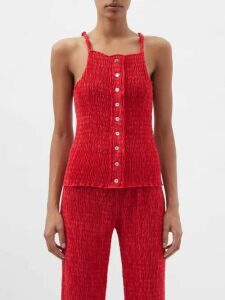 Joseph - Elijah Tie-neck Silk-georgette Blouse - Womens - Black