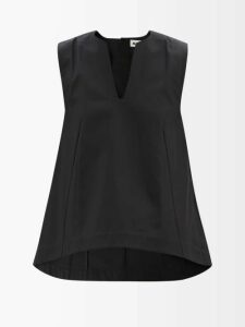 Chloé - Chunky-knit Wool-blend Sweater - Womens - Navy