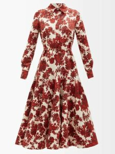 Gucci - GG Jacquard-knit Wool-blend Sweater - Womens - Black Gold