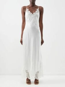 Connolly - Fine Knit Cashmere Cardigan - Womens - Light Blue
