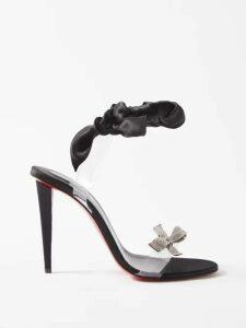Jw Anderson - Pussy-bow A-line Dress - Womens - Black