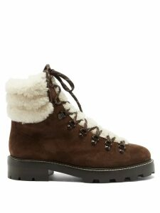 Erdem - Christy Gertrude Embroidered Silk Organza Dress - Womens - Red Multi