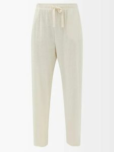 Calvin Klein - Windowpane Check Wool Blazer - Womens - Blue Multi