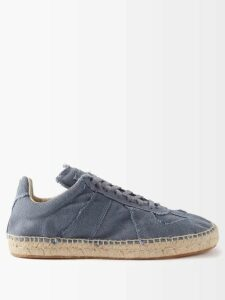 Givenchy - Micro Check Wool Trousers - Womens - Brown Multi
